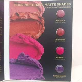 Urban Decay Vice Four Matte Shades Lipstick