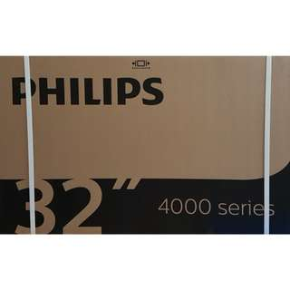 "Brand New Philips 32"" Digital Led Tv 32PHT4002/98 (DVB)"