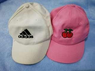 Adidas cap & Cherry cap