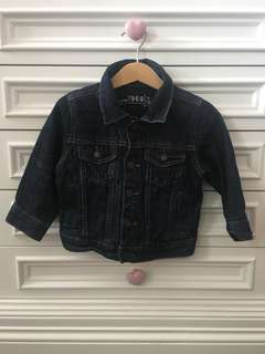 Baby Gap Dark Blue Denim Jacket