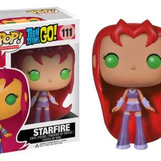 Teen Titans Go - Starfire Funko Pop