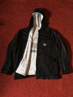 Adidas reversible zip hoodie (sale)