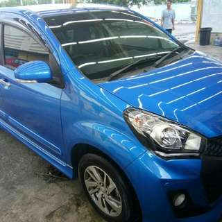 Myvi advan for cont loan