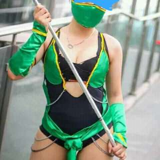 Jade mortal combat cosplay costume
