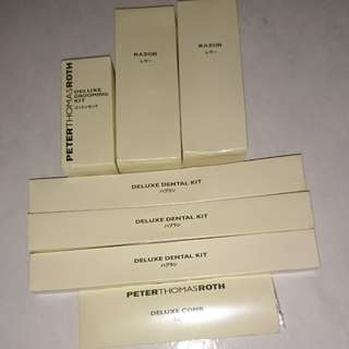 Peter Thomas Roth Hilton Hotel Toiletries (Japan)