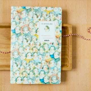 We All Look Alike Notebook/Journal