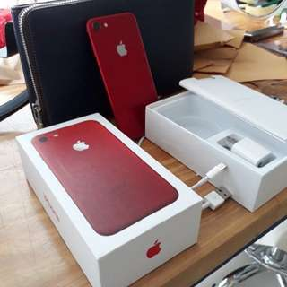iPhone 7 128 gb Red edition
