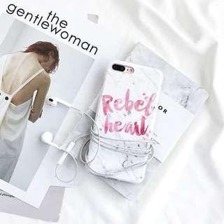 iPhone case 雲石紋 ins風 手機殻 全包軟膠殻