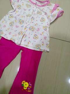 TollyJoy Daytime Pink Set ( 12 Months till 24 Months )