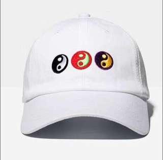 Gosha Rubchinskiy yin yang baseball cap
