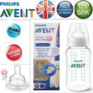 Philips Avent Classic+ PA 11oz/330ml (single)