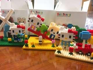 Hello Kitty Lego擺設❣️(已砌)