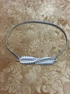 Iket pinggang belt daun