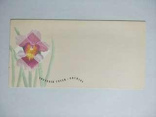 Unused souvenir cover orchid