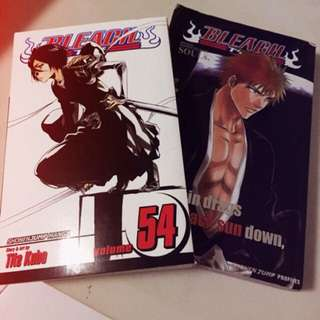 Bleach Manga and Character Book!
