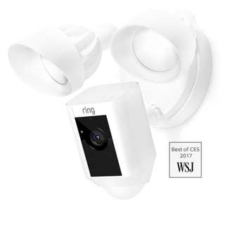 [IN-STOCK] Ring Floodlight Cam - The world's only motion-activated HD security camera with built-in floodlights, a siren alarm and two-way talk.