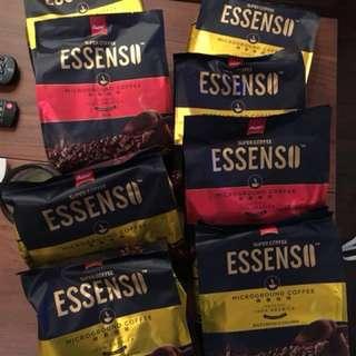 新加坡咖啡 ESSENSO 3合1,2合1 微磨咖啡