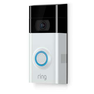 [IN-STOCK] Ring Video Doorbell 2 - Next-level security and convenience that works on any home and includes a rechargeable battery pack.