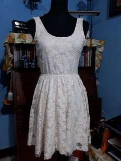 Zara Dress Off White