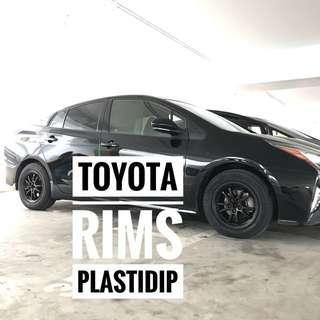 Toyota Pirus Plastidip Service Plasti Dip