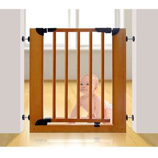 Baby Safety Gate  (Russian Pinewood)