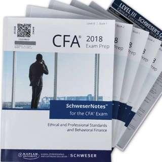 BNIB 2018 CFA Level 3 Schweser Notes