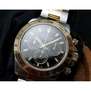 二手 Rolex Two Tone Daytona