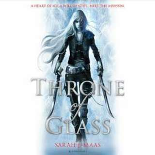 Throne of Glass Series Books #1-#3 Sarah J. Mass
