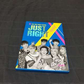 "GOT7 3rd MINI ALBUM ""JUST RIGHT"""