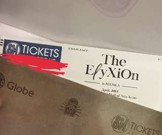 The Elyxion in Manila April 2018 Upper Box Ticket