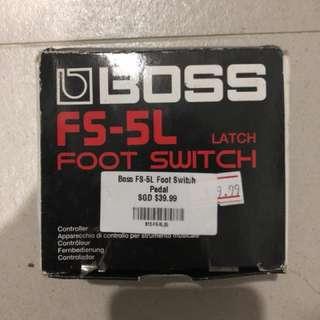 BOSS F5-5L Foot Switch
