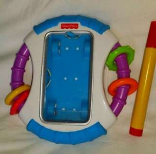 Fisher Price iPhone 4 / ipod case & toys