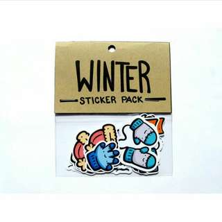 Winter Sticker Pack, planner and journal stickers