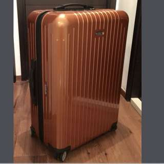 RIMOWA SALSA AIR 橙色 Condition A multi wheels 67x45x25cm