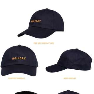 Baseball Cap HOLIDAY (PO)