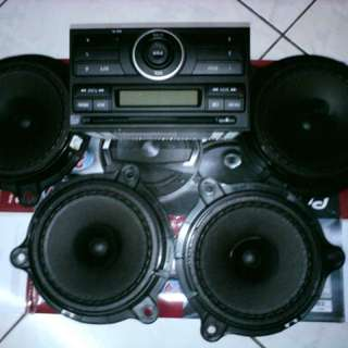 Audio Set Ori Car Nissan Livina