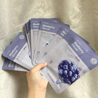 Faceshop and mediheal face mask