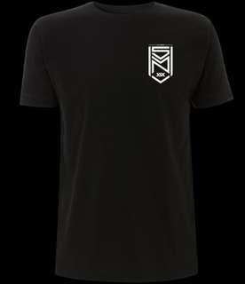 Sidemen Black Crest Logo Shirt