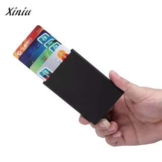 Aluminium Credit/Debit Card Holder Magnet Proof Dust Proof