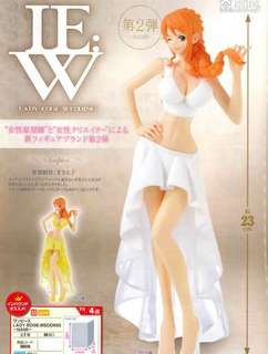 Banpresto Prize Figures 	 ONE PIECE LADY EDGE WEDDING NAMI