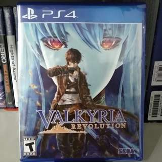PS4 - Valkyria Revolution