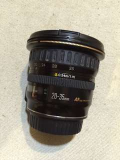 Canon 20-35mm f3.5-4.5 FAULTY