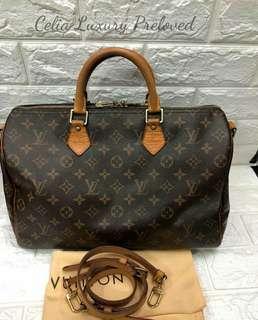 Preloved Louis Vuitton speedy 35 bando Authentic