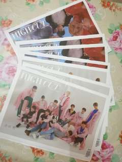 [Order Proof] HIGH CUT TYPE A & B Vol.216  Cover : WANNA ONE