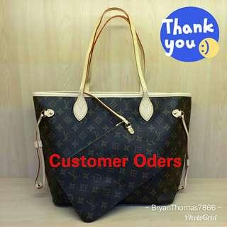 Customer Oders😘