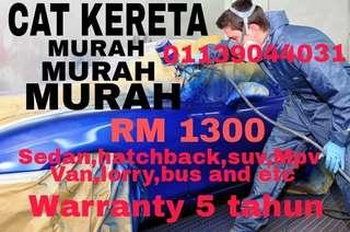 CAT KERETA MURAH PROMO