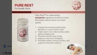 Usana pure rest/ cellsential