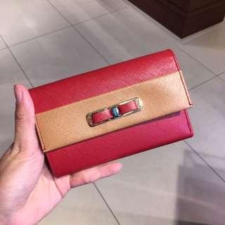 Ferragamo 女裝銀包 wallet 短銀包