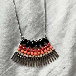 H&M aztec necklace