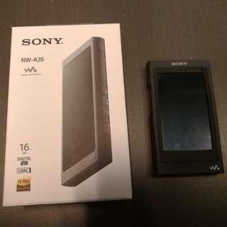 Sony NW-A35 walkman